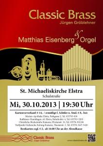 Konzert Classic Brass und Matthias Eisenberg