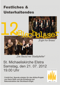 Konzert Bautzner Stadtpfeifer Eight fpr Brass