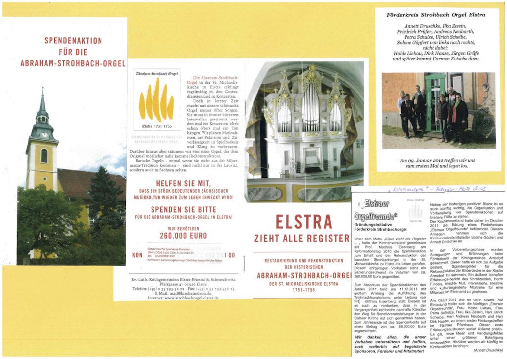 Bildchronikzum Orgelprojekt 2010 - 2016
