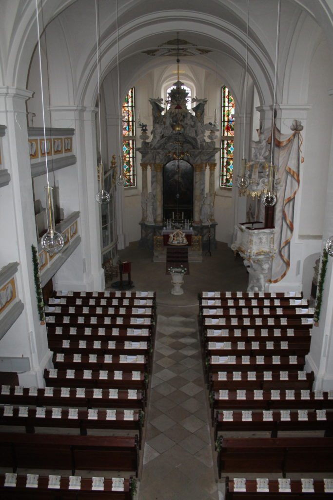 Festliche Wiedereinweihung der restaurierten Strohbachorgel am 18. September 2016