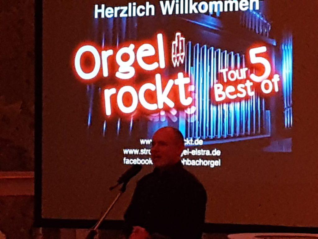 Orgel rockt mit Patrick Gläser